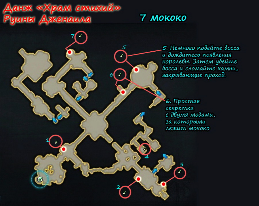 Храм стихий все мококо Лост Арк
