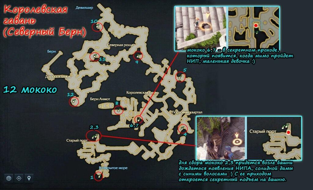 Все семена мококо в Королевской гавани Лост Арк
