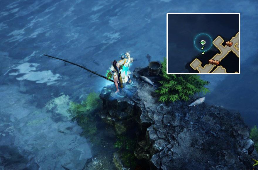 секретное место рыбалки лост арк