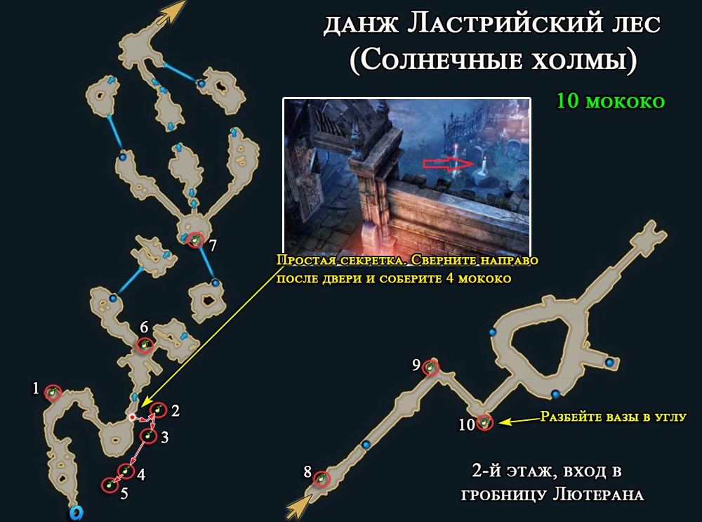Ластрийский лес инстанс в Лост Арк 2.0