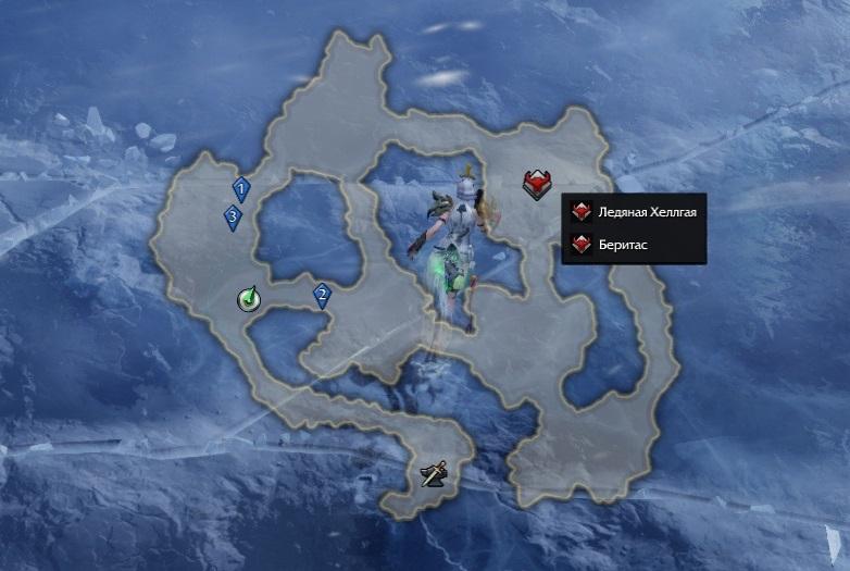Гварды на карте после ракеты