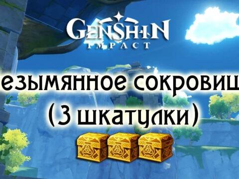 Безымянное сокровище в Genshin Impact