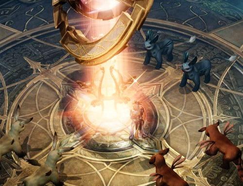 земля духов столб